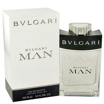 600bb8c8c6 Amazon.com : Bvlgari Man Eau De Toilette Spray for Men 100ml/3.4 Oz : Beauty