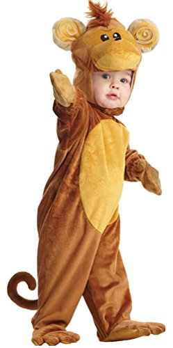 [UHC Baby's Monkey Outfit Toddler Fancy Dress Child Halloween Costume, M (18-24M)] (Monkey Outfits For Toddlers)