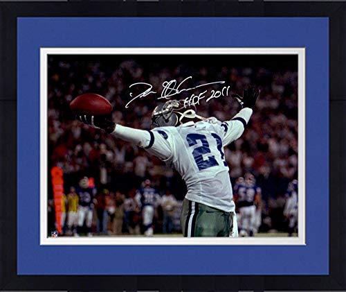 - Framed Deion Sanders Dallas Cowboys Autographed 16