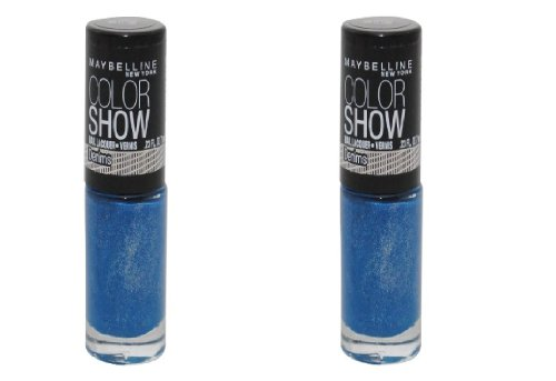 e Color Show Nail Color, Denim Dash 0.23 Fl Oz (7 Ml) ()