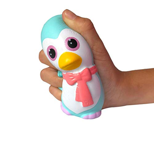 KpopBaby Squishies Adorable Penguin Slow Rising Cream Squeeze Scented Stress Relief Toys
