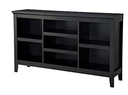Threshold Carson Horizontal Bookcase In Ebony