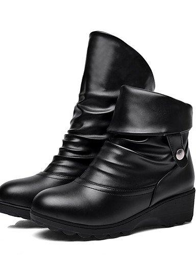 5 La 5 De Exterior Black Cn Zapatos us6 Y Vestido Comfort Eu39 Uk6 Cn39 7 Eu37 Plataforma Uk4 Moda us8 5 Trabajo Oficina Black Xzz Mujer Redonda Botas Punta A Cn37 Casual wACzzqPx5