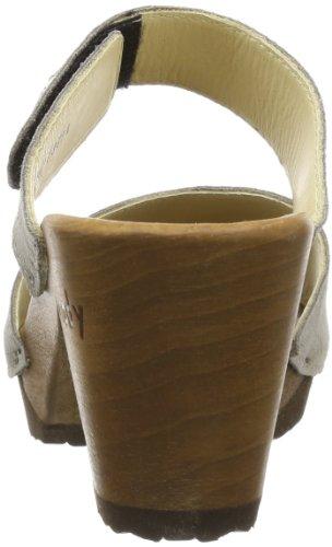 Gray Silke Mules 14262 Taupe Women Nubukleder Woody pXSFqp