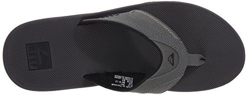 cheap popular Reef Men's Fanning Grey/Black 100% original for sale discount shop clearance comfortable syyRkWx