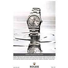 Print Ad 2002 Rolex Watch Oyster perpetual Day-Date