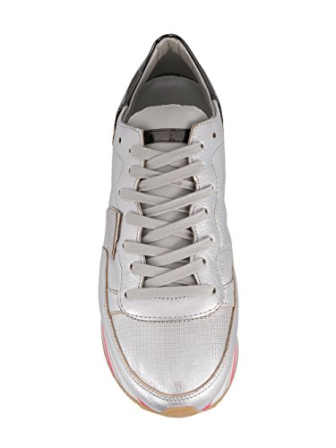 Leather Silver Philippe Model Women's EILDMM02 Sneakers I66xqRwaB