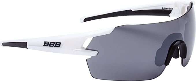 BBB FullView BSG-53 - Lunettes Cyclisme - Blanc 2018 Lunettes uvex WUY77l68