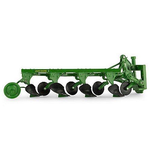1/16 Scale John Deere 4-Bottom Plow Ertl #45529 - - Deere Tractor Construction John