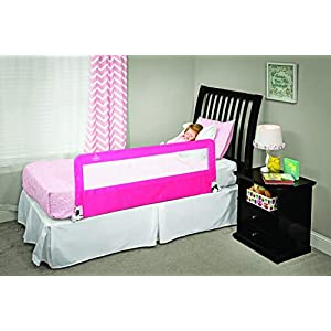 Regalo Hideaway 54-Inch Extra Long Bed Rail Guard, with...