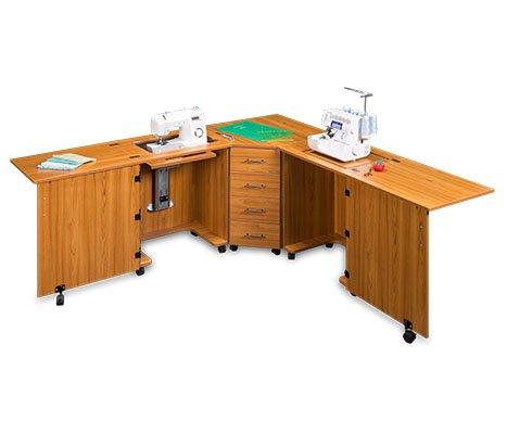 (Sylvia Design Model 1350 Sewing Center (Teak))
