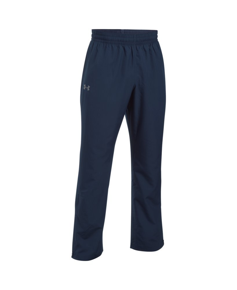 Under Armour Men's Vital Warm-Up Pants, Midnight Navy/Graphite, Medium by Under Armour (Image #4)