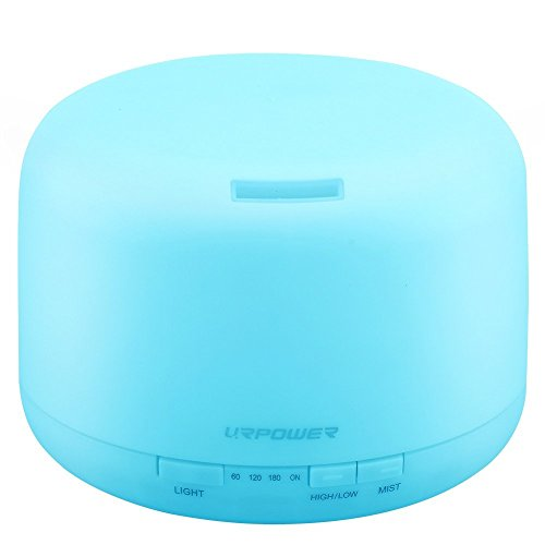 URPOWER 500ml Aromatherapy Essential Oil Diffuser  (Large Image)