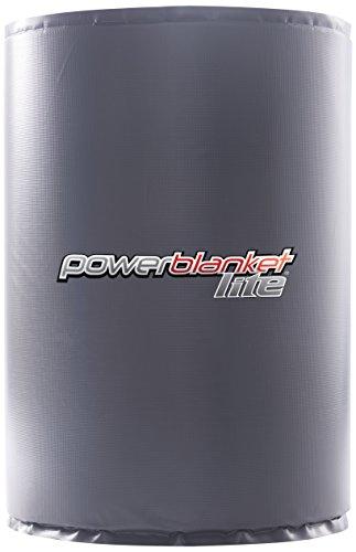 - Powerblanket PBL55F Full Coverage Drum Heating Blanket, 55 gal/208 L