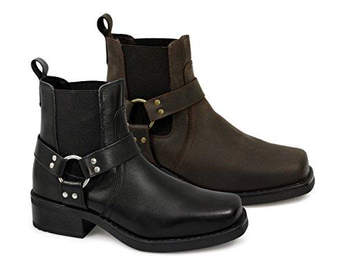 Gringos Men's M486A Chelsea Boots Black