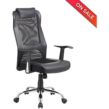 Amazon.com: Hbada Ergonomic Office Chair, High Back Computer Chair ...