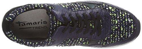 Multicolore Tamaris Basses navy Baskets 890 Comb 23611 Femme Mehrfarbig fqRaFw6qx