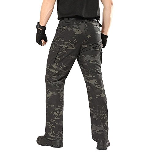 PASATO New!Men's Casual Tactical Military Army Combat Outdoors Work Trousers Cargo Pants(Camouflage, S) by PASATO (Image #4)