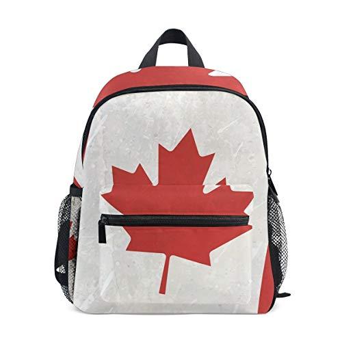 Backpack Canada Flag Mini Kids Pre-School Kindergarten Toddler Bag