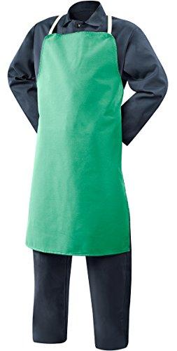 Steiner Apron - Steiner 10325 Bib Apron, Weldlite Green 9-Ounce Flame Retardant Cotton, 24-Inch x 36-Inch (3-Pack)