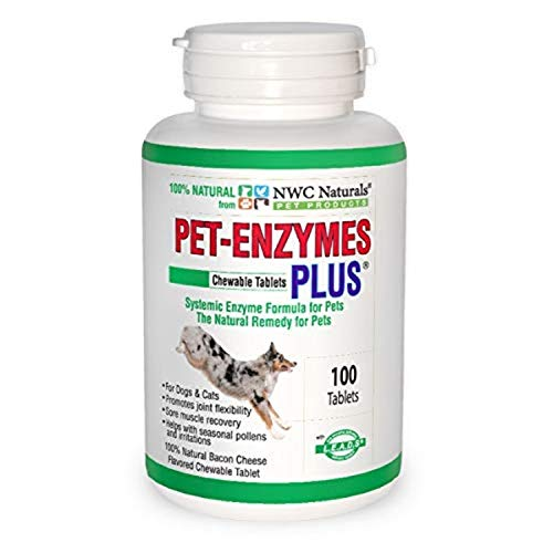 Pet-Enzymes Plus Joint and Allergy Formula for Dogs and Cats