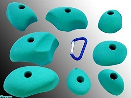 Climbing holds Wopper XL, Farbe:blau: Amazon.es: Deportes y ...