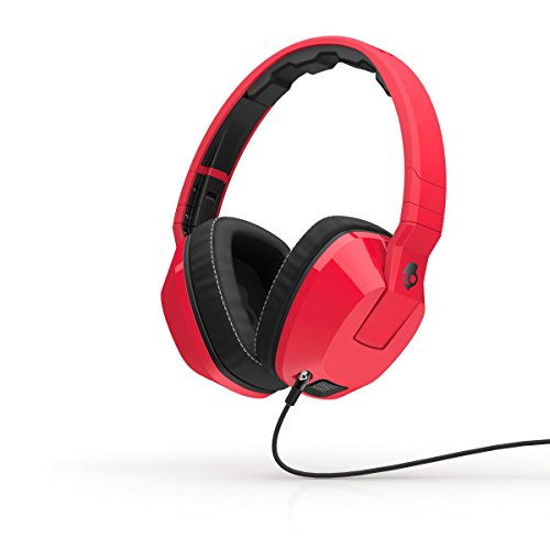 Skullcandy Crusher Red/Black | Over Ear Headphones w/ Amp &