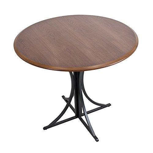 WOYBR DT WL+BK Wood, Metal Boro Dining Table by WOYBR (Image #2)