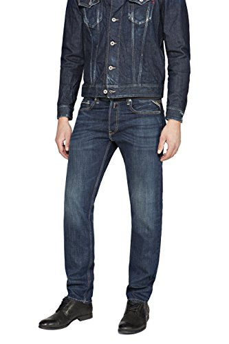 Jeans para Grover Azul Denim Hombre Blue REPLAY 5UTqEwSq
