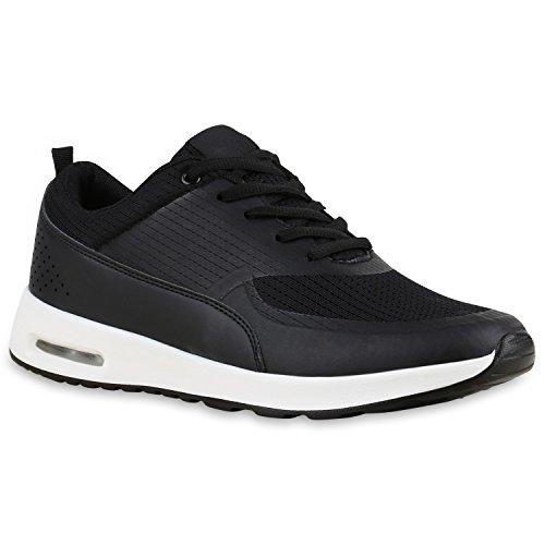 Bottes Paradis Unisexe Hommes Chaussures De Sport Course Sur La Taille Flandell Agueda Noir Et Blanc