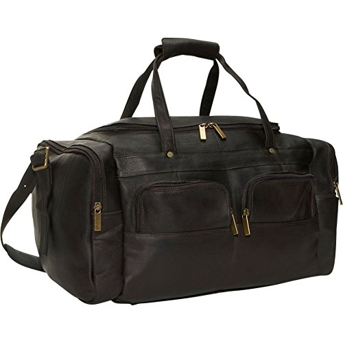 david-king-co-19-x-95-inch-multi-pocket-duffel-cafe-one-size