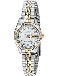 Women's 75/2475MOP Swarovski Crystal Accented Two-Tone Bracelet Watch