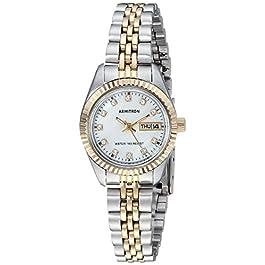 Armitron Women's Genuine Crystal Accented Bracelet Watch