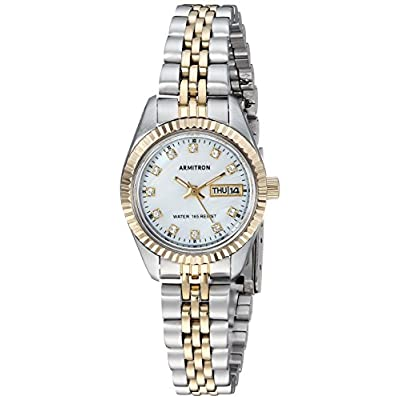 Armitron Women's Swarovski Crystal Accented Bracelet Watch