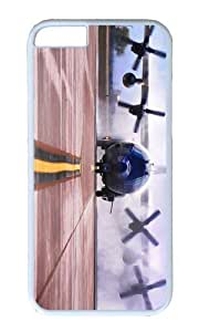 MOKSHOP Adorable ac 130w stinger ii American Special OPS Hard Case Protective Shell Cell Phone Cover For Apple Iphone 6 (4.7 Inch) - PC White
