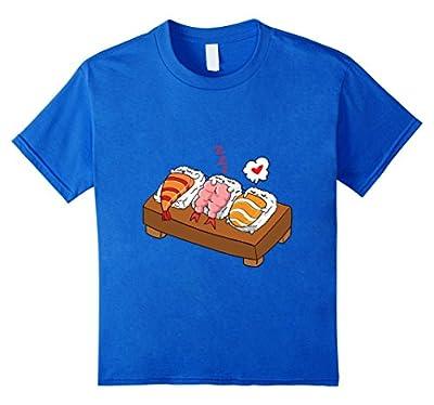 Sleeping Sushi - Funny Japanese Food T-Shirt