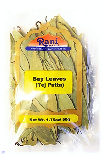 Rani Bay Leaf (Leaves) Whole Spice Hand Selected Extra Large 1.75oz (50g) All Natural ~ Gluten Free Ingredients | NON-GMO | Vegan | Indian ()