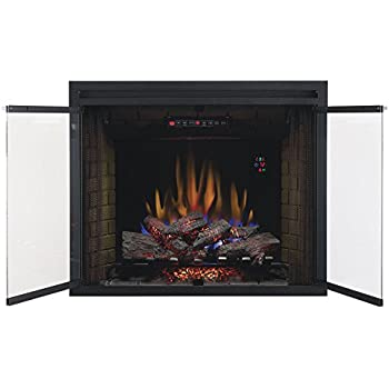ClassicFlame 39EB500GRS 39  Built In Electric Fireplace