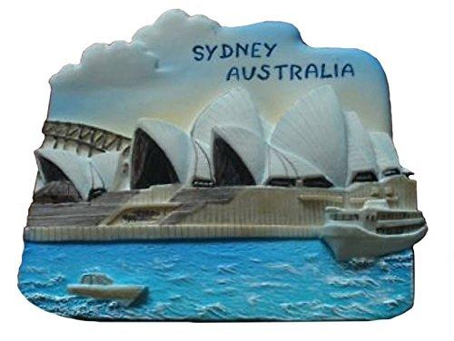 Sydney Opera House Australia Souvenir Fridge Magnet Toy Set 3D Resin Collection