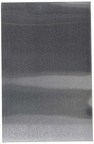 Gemini CC-Metal Craft Material Pack-Thin Sheets-20 Pk Mixed Media Surface, Silver