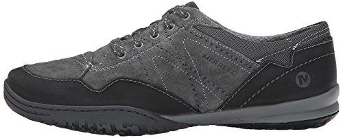 Zapatillas Mujer Para Merrell Gris Granite De Cuero Lace Albany YqFFPxE7