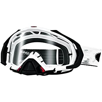 0dfc19e1e41a Oakley Mayhem Pro MX Speed Adult Dirt MotoX Motorcycle Goggles Eyewear -  Matte White Clear