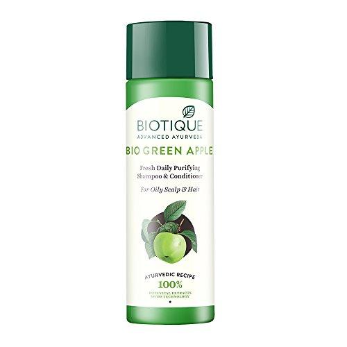 BIO GREEN APPLE Fresh Daily purifying Shampoo & Conditioner (Nature Apple Shampoo)