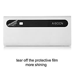 Aibocn Power Bank 10,000mAh External Battery Charger with Flashlight for Apple Phone iPad Samsung Galaxy Smartphones Tablet