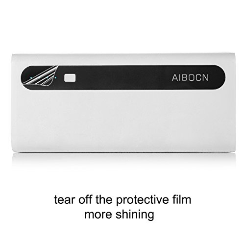 Aibocn Power Bank 10,000mAh External Battery Charger with Flashlight for Phone iPad Samsung Galaxy Smartphones Tablet - Upgraded
