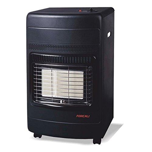 Estufa interior de gas butano cerámina FORCALI 42 KW (4200 W, 42 x 37 x 74,5 cm) bajo consumo: Amazon.es: Bricolaje y herramientas