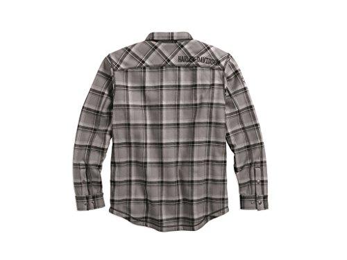 Harley-Davidson Hemd Flannel Grey