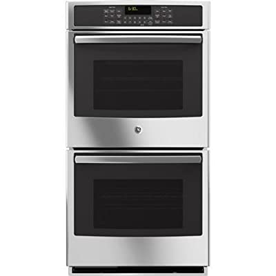 """GE PK7500SFSS Profile 27"""" Stainless Steel Electric Double Wall Oven - Convection"""