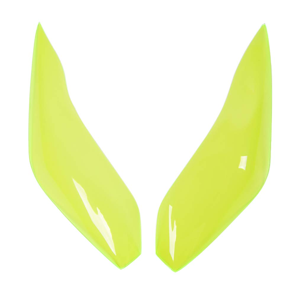 Verde fluorescente tiper Kawasaki Versys 1000 650 2015 2016 2017 2018 Lente frontale Lente di plasca Shell Head Light Dust Cover sostituzione dello schermo