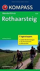 Rothaarsteig: Wanderführer mit Tourenkarten und Höhenprofilen